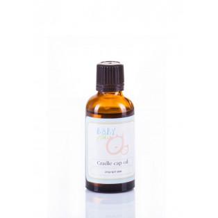 Cradle Cap Oil - Натуральное масло для ухода за кожей головы ребенка. Устранение желтых корочек на голове