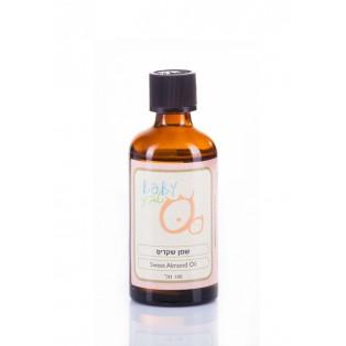 Sweet Almond Oil - Масло сладкого миндаля. Натуральное масло для массажа детей