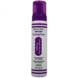 Гипоаллергенная пена для мытья BioSilk BubbleGum Fun Body Foam Grape-Tacular Purple