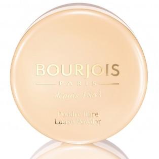 Рассыпчатая минеральная пудра Bourjois Poudre Libre Loose