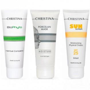 Набор «Комплексный уход в период солнечной активности» Christina