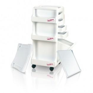База под нагреватель на колесах для парафинотерапии ног Depil Trolley Parafin Warmer Base Depileve