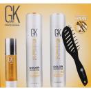 Набор Global Keratin KIT BOX2 (шампунь, кондиционер, сыворотка, расческа)