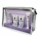 Набор - Gatineau Micellar Travel Kit (mic/wat 50ml + scr 15ml + cr 15ml + l/care 10ml + bag)