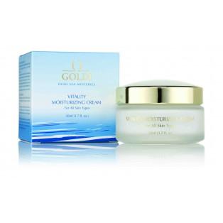 Тонизирующий увлажняющий крем GOLDI Vitality Moisturizing Cream