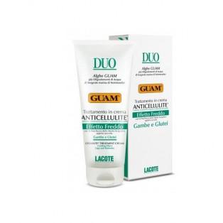 DUO Антицеллюлитный крем с охлаждающим эффектом DUO Anticellulite Effetto Freddo GUAM
