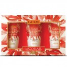 Le Corail Набор из трех средств  - GUAM Le Corail TRIS (Body Cream 75 ml, Shower Gel 75 ml, Hand Cream 50 ml)