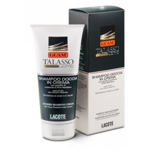 Кремообразный соль-гель для волос и тела Shampoo Doccia in Crema Talasso Uomo Guam