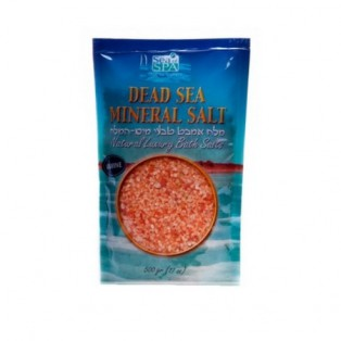 Ароматическая соль Мёртвого моря «Роза» Sea of Spa Natural Luxury Bath Salts Rose