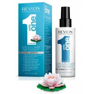 Маска-спрей для волос с ароматом лотоса Uniq One All In One Lotus Flower Hair Treatment