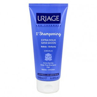 Первый экстра-мягкий детский шампунь Uriage Bebe Shampooing extra doux Sans Savon