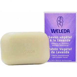 Лавандовое растительное мыло - Weleda Lavender-Soap