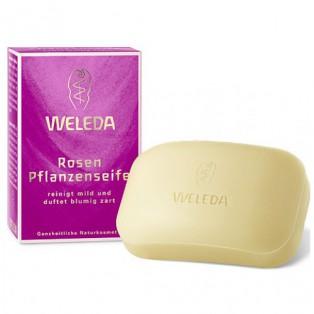 Розовое питательное мыло - Weleda