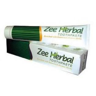 Зубная паста обогащенная индийскими лечебными травами «Zee Herbal»