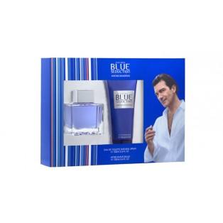 Antonio Banderas Blue Seduction for Men Подарочный набор (туалетная вода 50 мл + лосьон после бритья 100 мл)