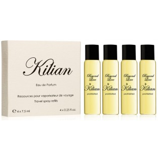 Beyond Love By Kilian Prohibited Набор (edp 4x7,5 мл refill) Travel Edition