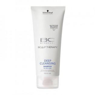 Глубоко очищающий шампунь - Schwarzkopf Bonacure Scalp Therapy Deep Cleansing Shampoo