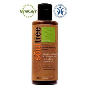 Органический шампунь Soultree для восстановления волос с Лакричником, Шикакай и питательным Кокосовым маслом